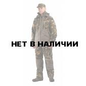 Флисовый костюм Панда, камуфляж Тростник с накладками,350г/м2