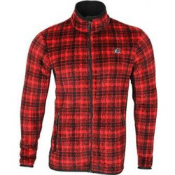 Куртка Cell Polartec High-Loft красная клетка