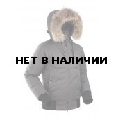 Куртка пуховая женская BASK YGRA SOFT серый тмн