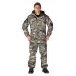 Костюм ГЕРКОН-ЛЕТО куртка/брюки, цвет:, камуфляж Цифра бежевый, ткань : Твил рип-стоп