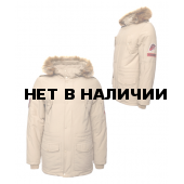 Куртка Юнармия утепленная бежевая