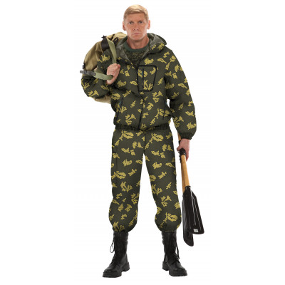 Костюм ТУРИСТ 1 куртка/брюки цвет:, камуфляж Граница хаки, ткань : Грета