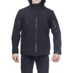 Куртка с капюшоном МПА-26 (ткань софтшелл) черный