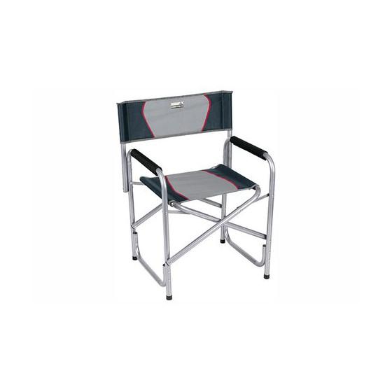 Кресло Campingstuhl Cadiz серый/тёмно-серый, 58 x48x44/78 см, 44131
