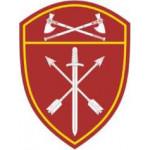 Нашивка на рукав с липучкой Росгвардия Приволжский Округ в/ч Оперативного назначения пластик