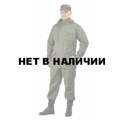 Костюм КАПРАЛ куртка/брюки, цвет: олива, ткань : Коттон Пич 240