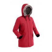 Удлиненная женская куртка-парка BASK MEDEA V2 красная