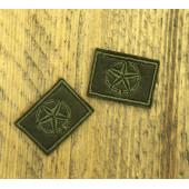 Эмблема петличная полевая СУХОПУТНЫЕ ВОЙСКА (звезда)