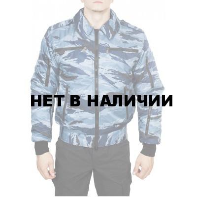 Куртка демисезонная МПА-34 (Пилот), камуфляж с/г камыш твил/файбертек 120