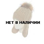 Шапка полушерстяная marhatter женская MWU 8752/8 бежевый 029