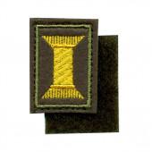 Эмблема петличная Офицерского состава вышивка шёлк