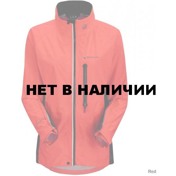 Куpтка женская VELOCITY DT JKT, S 36/38 red/steel, FVDTJREDB8