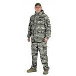 Костюм СУМРАК куртка/брюки, цвет:, камуфляж Цифра св.серый, ткань : Рип-Стоп