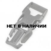 Пряжка фастекс со съемной крестовиной 15-15 мм 1-30237/1-30251 (2 части) черный Duraflex