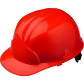 Каска промышленная Лидер красная (10шт. в упак)