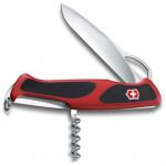 Нож перочинный Victorinox RangerGrip 63 (0.9523.MC) 130 мм 5 функций красный/черный