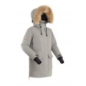Куртка пуховая женская BASK IREMEL V2 светло-серый
