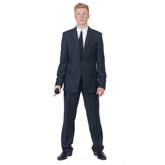 1212 костюм классический офисный мужской полиэфирная