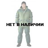 Костюм зимний ГРАСК куртка/полукомбинезон цвет: светлый хаки/темный хаки, ткань : Таслан