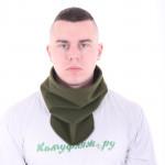 Морской шарф Keotica флисовый олива