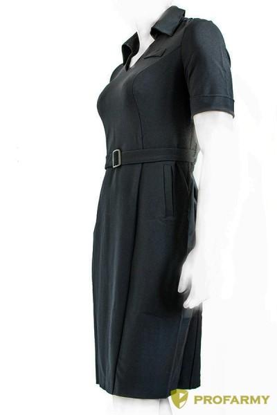 Платье полиции поливискоза короткий рукав, производитель PROFARMY ... 352418988b0