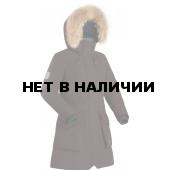 Пальто пуховое женское BASK VISHERA темно-бордовое