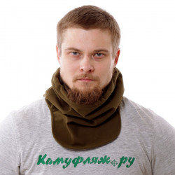 Морской шарф Keotica мембрана на флисе олива
