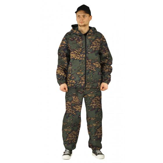 Костюм МАСКХАЛАТ куртка/брюки, цвет:, камуфляж Лягушка, ткань : Сорочечная