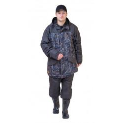 Костюм демисезонный ГЕРКОН-ВЕСНА/ОСЕНЬ куртка/брюки цвет:, камуфляж ЦифраФорест/т.серый, ткань : Алова