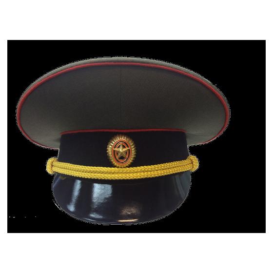 Фуражка МО черный околыш повседневная уставная