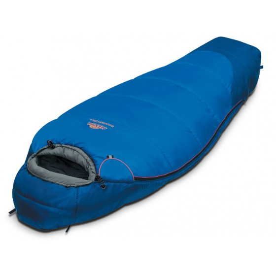 Мешок спальный MOUNTAIN Child синий, левый