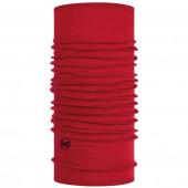 Бандана Buff Lightweight Merino Wool Solid Red 113010.425.10.00
