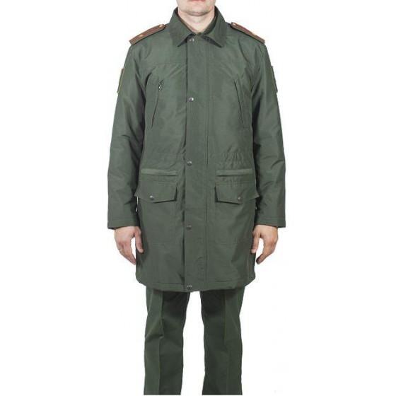 Плащ д/с мужской МПА-60 зеленый (рип-стоп)