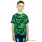 Футболка детская Green Camo короткий рукав