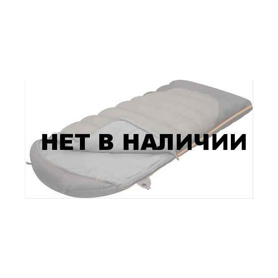 Мешок спальный SUMMER WIDE PLUS одеяло, серый, левый