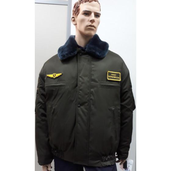 Куртка Ф-74 пыльно-зеленая грета