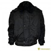 Куртка зимняя П-1 черная оксфорд