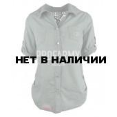 Рубашка женская оливковая