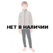 Куртка флисовая детская BASK kids PIKA серый свтл
