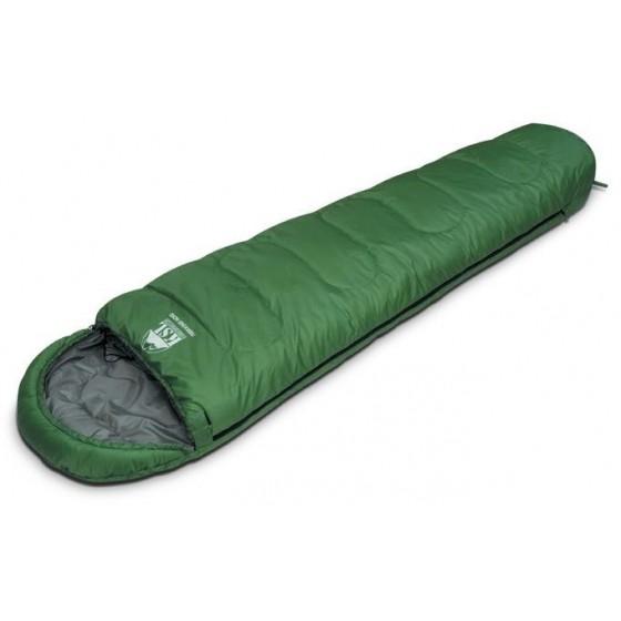 Мешок спальный TREKKING NORD зеленый, правый, 6222.01011