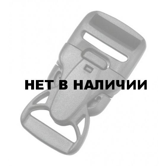 Пряжка фастекс с замком 38 мм 1-08414/1-08415 (2 части) две регулировки оливковый Duraflex