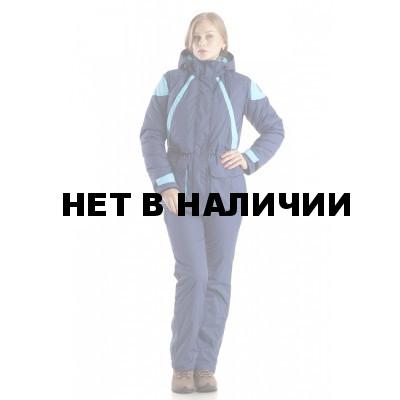 Костюм женский Касатка зимний., ткань мембрана (Добби), тефлоновое покрытие, цвет синий/голубой ТАЙФ