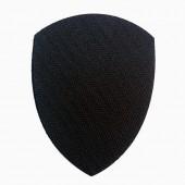 Липучка для шевронов Полиция МВД черная малая