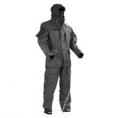 Костюм Горка-5 черная с накладками из ткани Cordura с защитой коленей локтей и копчика