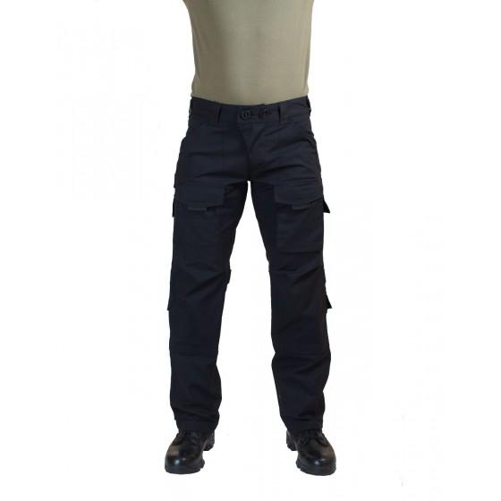Брюки МПА-56 тактические черные, ткань Рип-Стоп