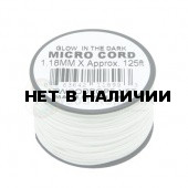 Паракорд ATWOODROPE Glow-in-the-dark 1.18мм х 125 MICRO CORD 38м neon white