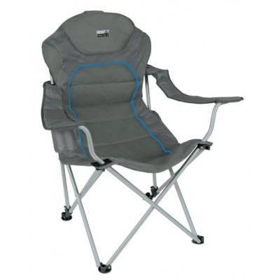 Кресло Alicante темносерый/голубой, 44117