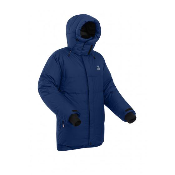 Пуховая куртка BASK KHAN TENGRI V7 темно-синяя