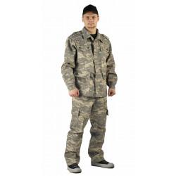Костюм ЗАХВАТ куртка/брюки, камуфляж: цифра светло-серый, ткань : грета