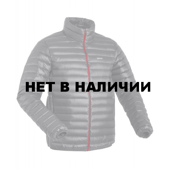 Куртка пуховая унисекс BASK CHAMONIX LIGHT UJ серая